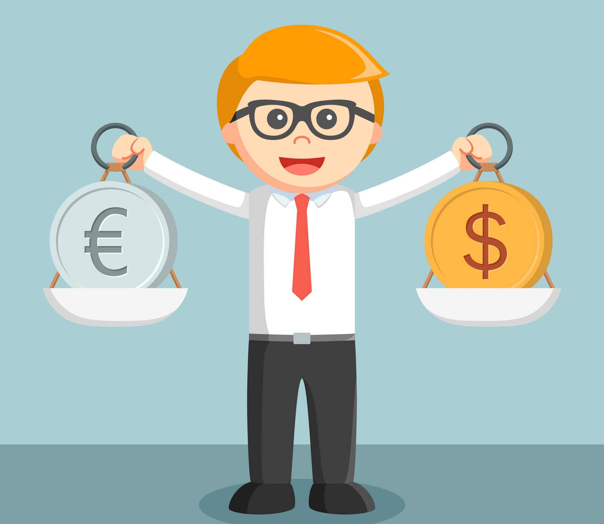 Вклады под высокий процент в иностранной валюте