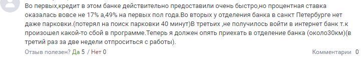 Высокие процентные ставки по кредитам в банке УРБиР