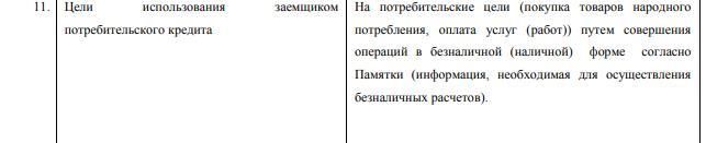 Цели кредитования в Совкомбанке под 12%
