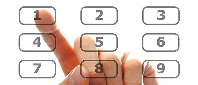 Наличие номера, привязанного к карте